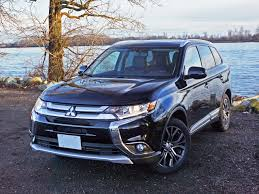 mitsubishi crossover 2016 2016 mitsubishi outlander es awc touring road test review