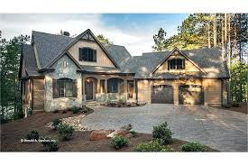 craftsman style ranch home plans ranch home plans with walkout basement craftsman vacation home plan
