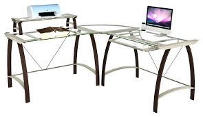 Office Depot Desks And Hutches Desk L Desk Glass Top L Glass Desk L Shaped Glass Top Desk Ikea