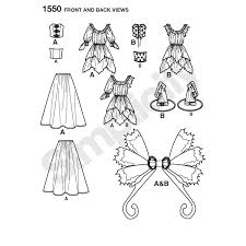 simplicity halloween costume patterns misses u0027 amy brown fairy costume simplicity