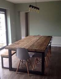 Wood Dining Room Tables And Chairs Gris Y Madera Natural La Combinación Perfecta Interiors Room