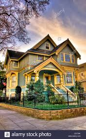 victorian style house victorian style house with decorative paint and trim sacramento