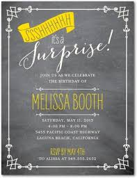 party invitations sample surprise birthday party invitations