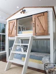 House Bunk Beds Inspired By Bunk Beds For A Guest Room The Inspired Room