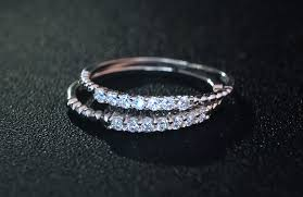 eternity wedding aliexpress buy thin 1pc 925 sterling silver 2mm rope