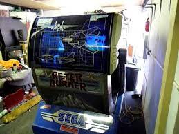Arcade Barn My Sega Afterburner Sit Down Arcade Version Youtube