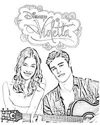 violetta coloring pages coloring for kids coloring violetta