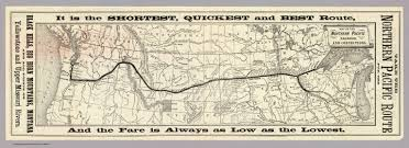Map Of Northern Oregon by Of The Northern Pacific Railroad And Connections Northern