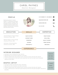 Resume The Work 7 Resume Design Principles That Will Get You Hired 99designs Blog