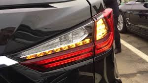lexus rx 450h in usa lexus rx 2016 turn lights youtube