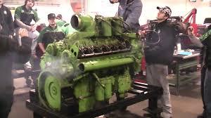 detroit diesel 12v71 start at otc youtube
