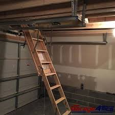 pull down stairs allow for easy access to your storage loft in