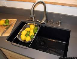 kitchen sinks composite what sink material is best for your mn kitchen remodel lake