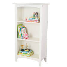 Two Shelf Bookcase White by Kidkraft Avalon Three Shelf Bookcase White Walmart Com