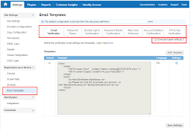 email templates gigya documentation developers guide