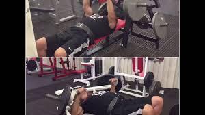 nobull hammer strength bench wt cybex fly bench press supersets wt