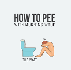 Morning Wood Meme - best ways to pee with the morning wood 9 images