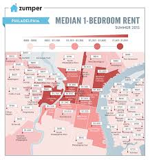 San Diego Map Neighborhoods by See The Cheapest And Most Expensive Philly Neighborhoods To Rent