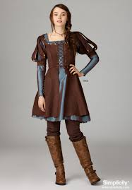 Owl Halloween Costume Pattern Misses U0027 Medieval Dress Costume This Pattern Comes In Two Lengths