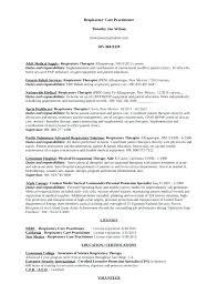 respiratory therapist resume objective resume for respiratory therapist best respiratory therapist