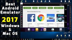 android emulator top 4 best android emulators 2017 free windows mac os