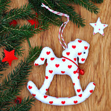rocking ornament tree decoration