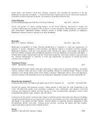 Beer Resume Resume