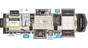 flor plans momentum hauler floorplans grand design