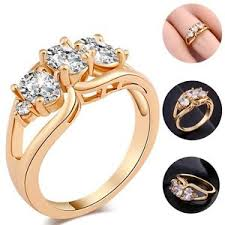 gold rings women images Loverly cute diamond ring women 39 s and girl 39 s gold rings party jpg