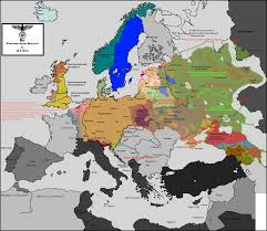 Europe Map Ww2 by What If Won Wwii Map Alternate History Discussion Board