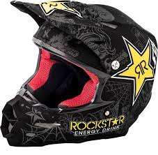 motocross helmet rockstar fly racing f2 carbon rockstar helmet bto sports
