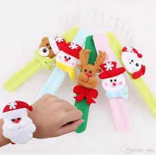 Deer Decorations For Christmas by Christmas Decorations Kids Christmas Gift Wrist Strap Santa