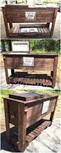 Patio Furniture Out Of Wood Pallets by Top 25 Best Pallet Cooler Ideas On Pinterest Patio Cooler Diy