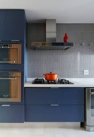 Stainless Steel Cabinets For Kitchen Kitchen Color Inspiration 12 Shades Of Blue Cabinets Contemporist
