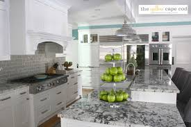 the yellow cape cod dramatic kitchen makeover reveal before and after