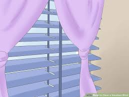 Venetian Blinds How To Clean 6 Ways To Clean A Venetian Blind Wikihow