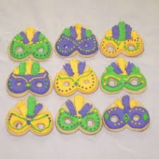 mardi gras cookie cutters 1 dozen truck cookies by sugaredheartsbakery on etsy