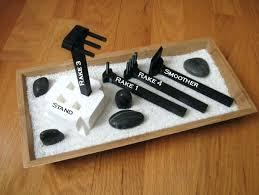 Mini Zen Rock Garden Zen Garden Rake Image For Miniature Zen Rock Garden Gift Kit