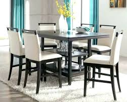 tall dining table and chairs counter height round table and chairs round glass counter height