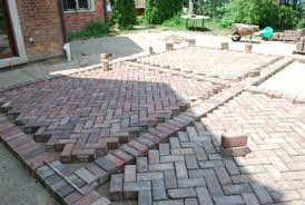 Patio Brick Pavers Herringbone Brick Patio Brick Walkways Herringbone Walkway Rustic