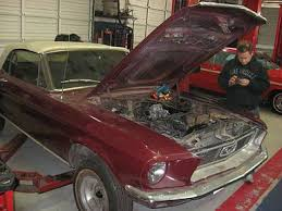 mustang auto shop 1968 ford mustang wilson auto repair in are pros at