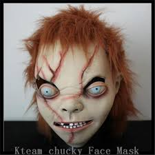 chucky mask free shipping high quality party creepy scary chucky