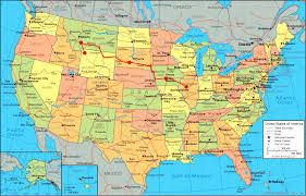 map for usa and canada united states map tourist attractions map travel roadside