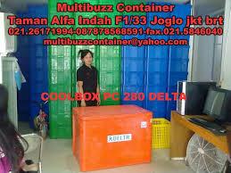 Jual Keranjang Container Plastik Bekas terjual raja grosir suplier keranjang container plastik merk