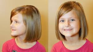 7year old haircuts how to do a bob cut short hair tutorial girls haircuts youtube