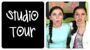 studio tour brooklynandbailey u0026 cutegirlshairstyles youtube