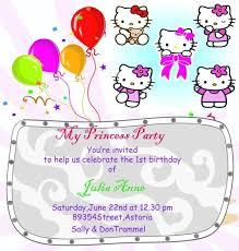best 25 hello kitty birthday invitations ideas on pinterest