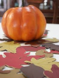 Leaf Table Runner How To Make A Fall Leaf Table Runner For Thanksgiving Curbly