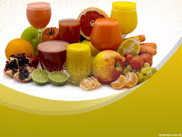 free health and delicious fruits backgrounds for powerpoint