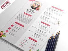 Cv Resume Format Creative Horizontal Cv Resume Template Psd Cv Resume Template